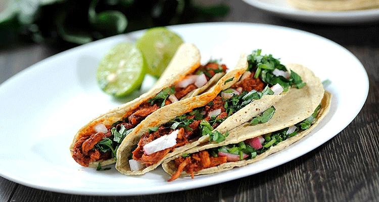 Receta de Tacos de Adobada