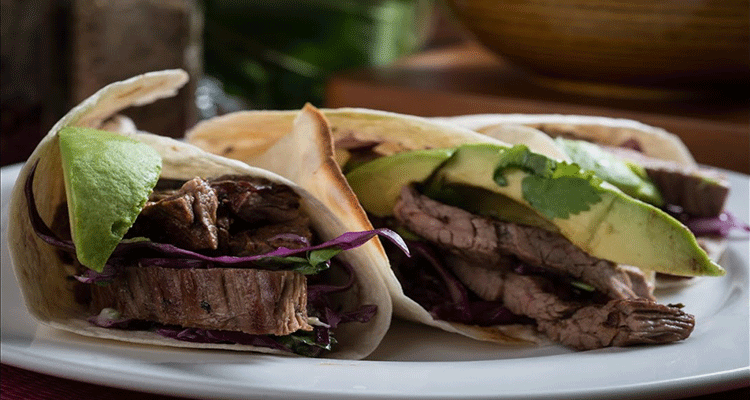 Receta de Tacos de Arrachera