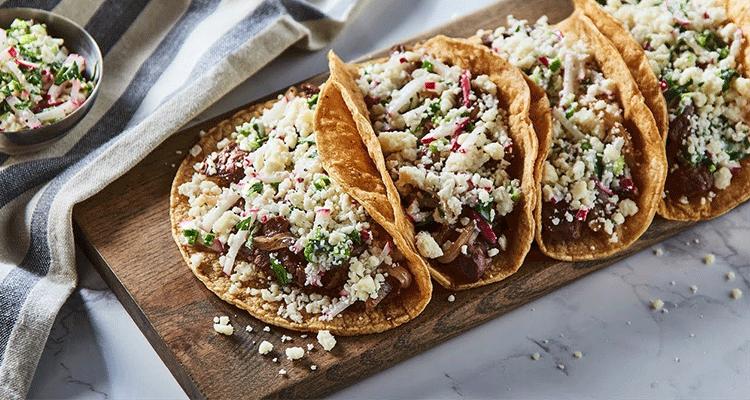 Receta de Tacos de Bistec