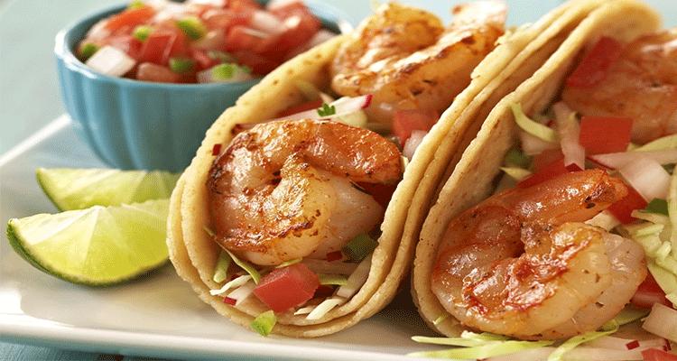 Receta de Tacos de Camarón