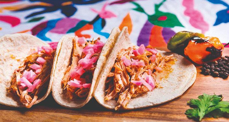 Receta de Tacos de Cochinita Pibil