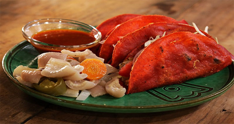 Receta de Tacos Rojos